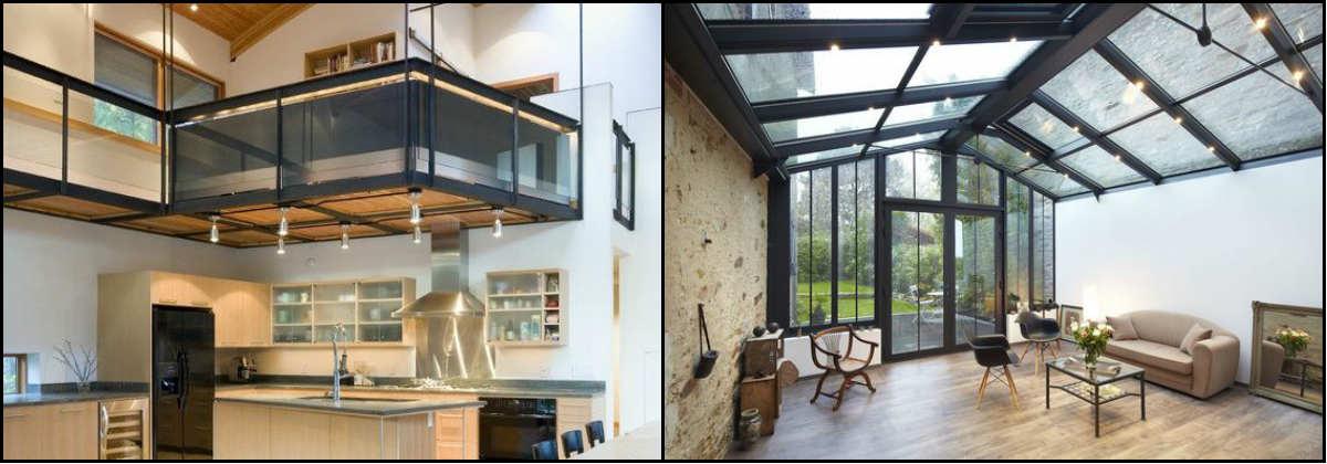 mezannine-veranda-agrandir maison-grenoble